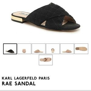 NEW Karl Lagerfeld Rae Sandals